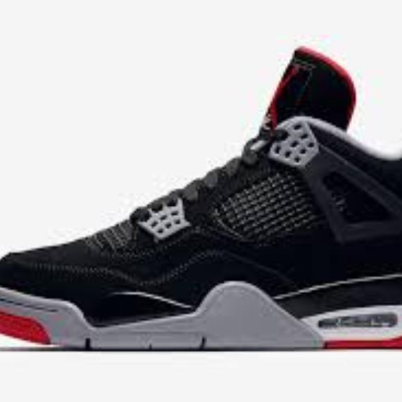 Men Jordans Bred 4 Size 11.5 Never Worn